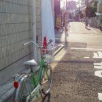 ツノダ,自転車,おしゃれ,昭和,ママチャリ,かわいい,ミニサイクル