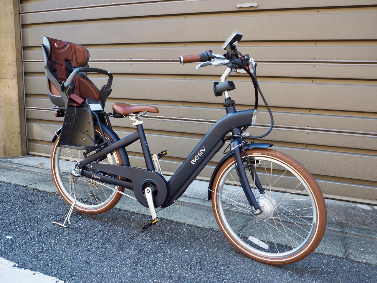 電動自転車,ブリジストン,パナソニック,besv,ebike,チャイルドシート,ハマックス,ビッケ,bikke