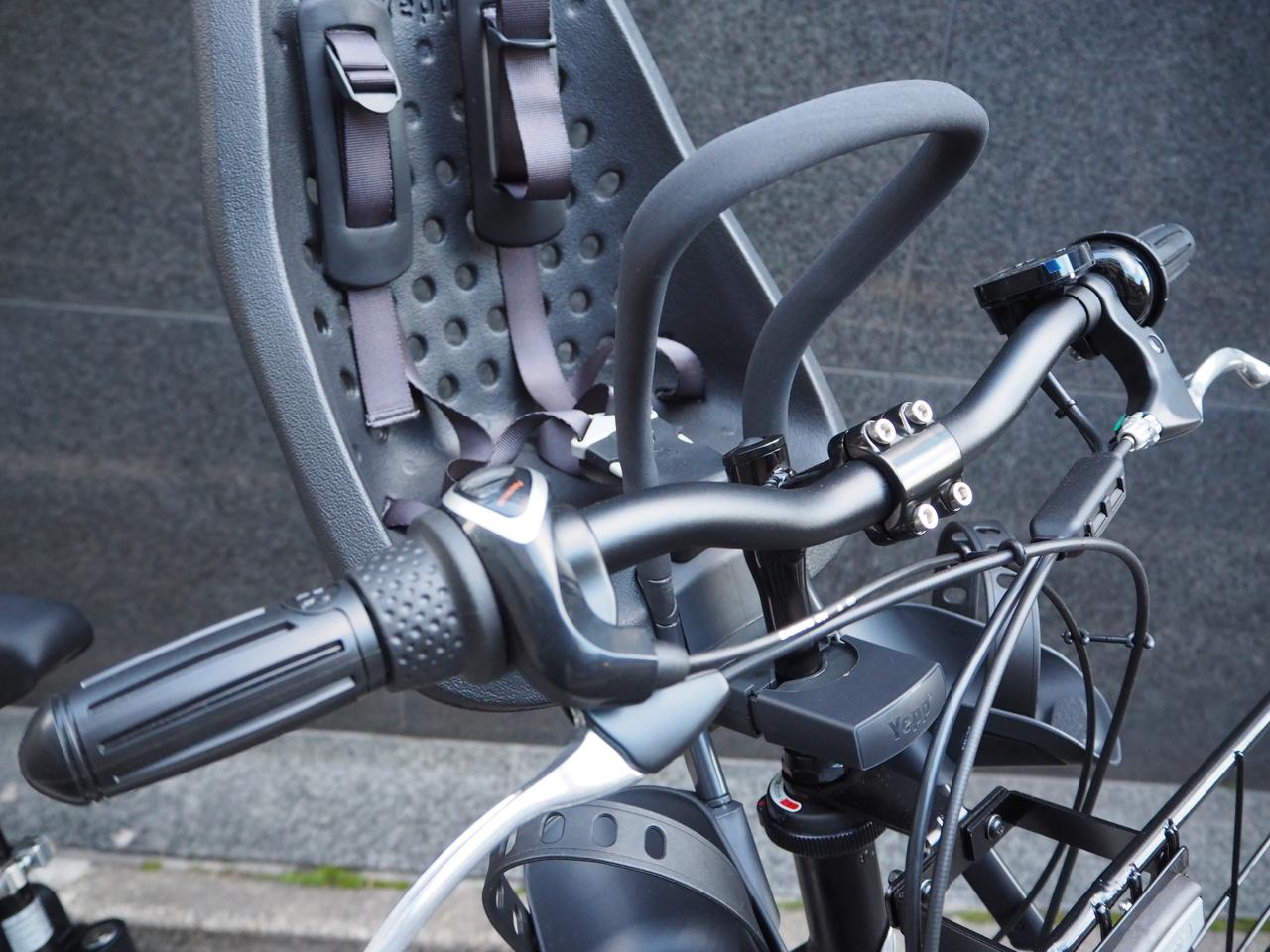 ステップクルーズ,ブリヂストン,電動自転車,かっこいい,カスタム,チャイルドシート