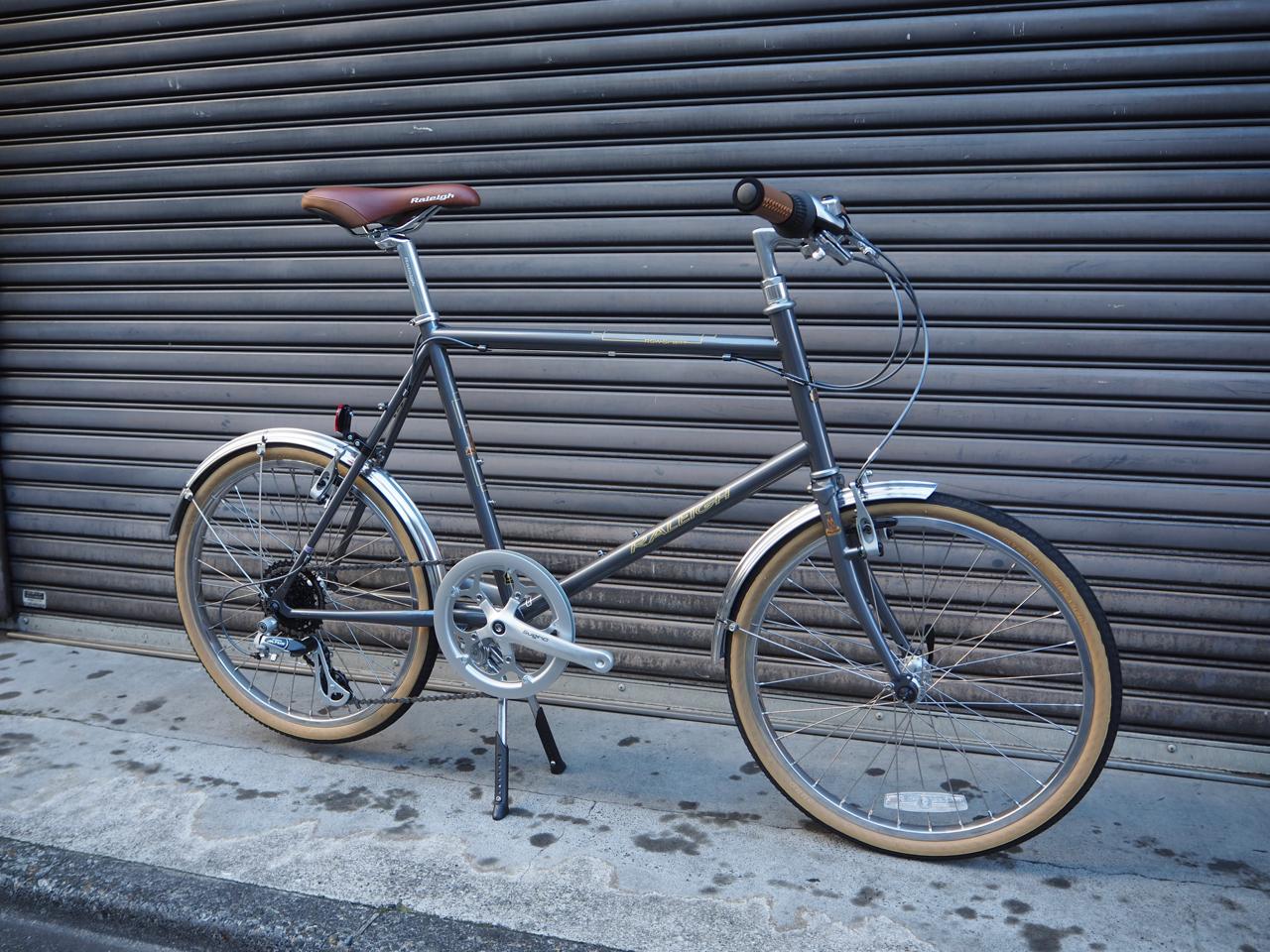 ラレー,ミニベロ,raleigh,RSM,おしゃれ,小径車,タイヤの小さい自転車