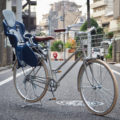 トーキョーバイク,tokyobike,lite,カスタム,チャイルドシート