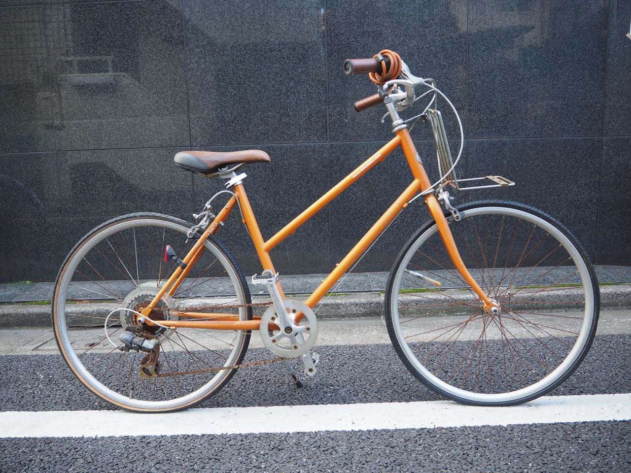 トーキョーバイク,tokyobike,bisou,カスタム,チャイルドシート