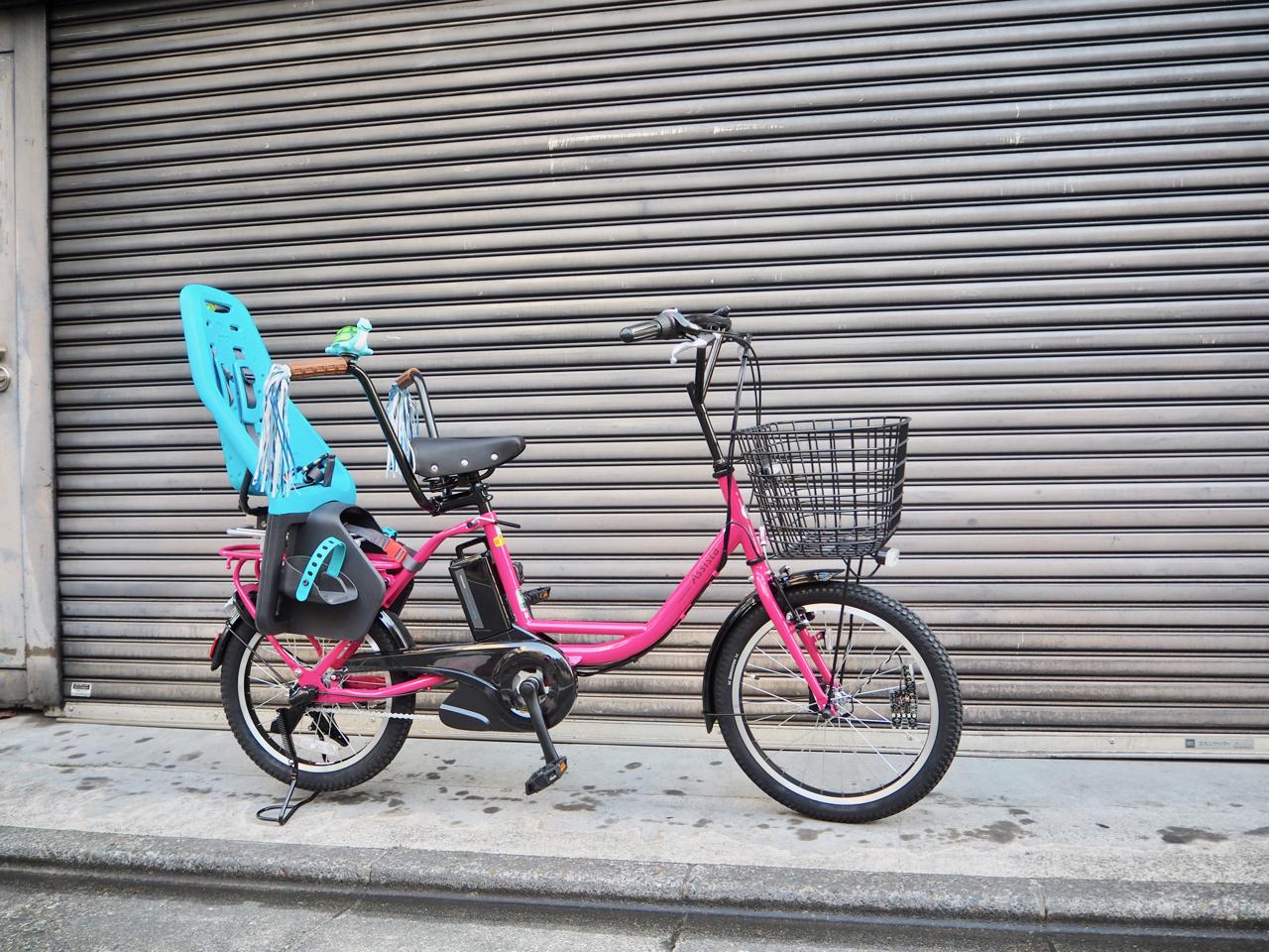 アシスタベーシックミニ,ブリヂストン,電動自転車,チャイルドシート,イェップ,yepp