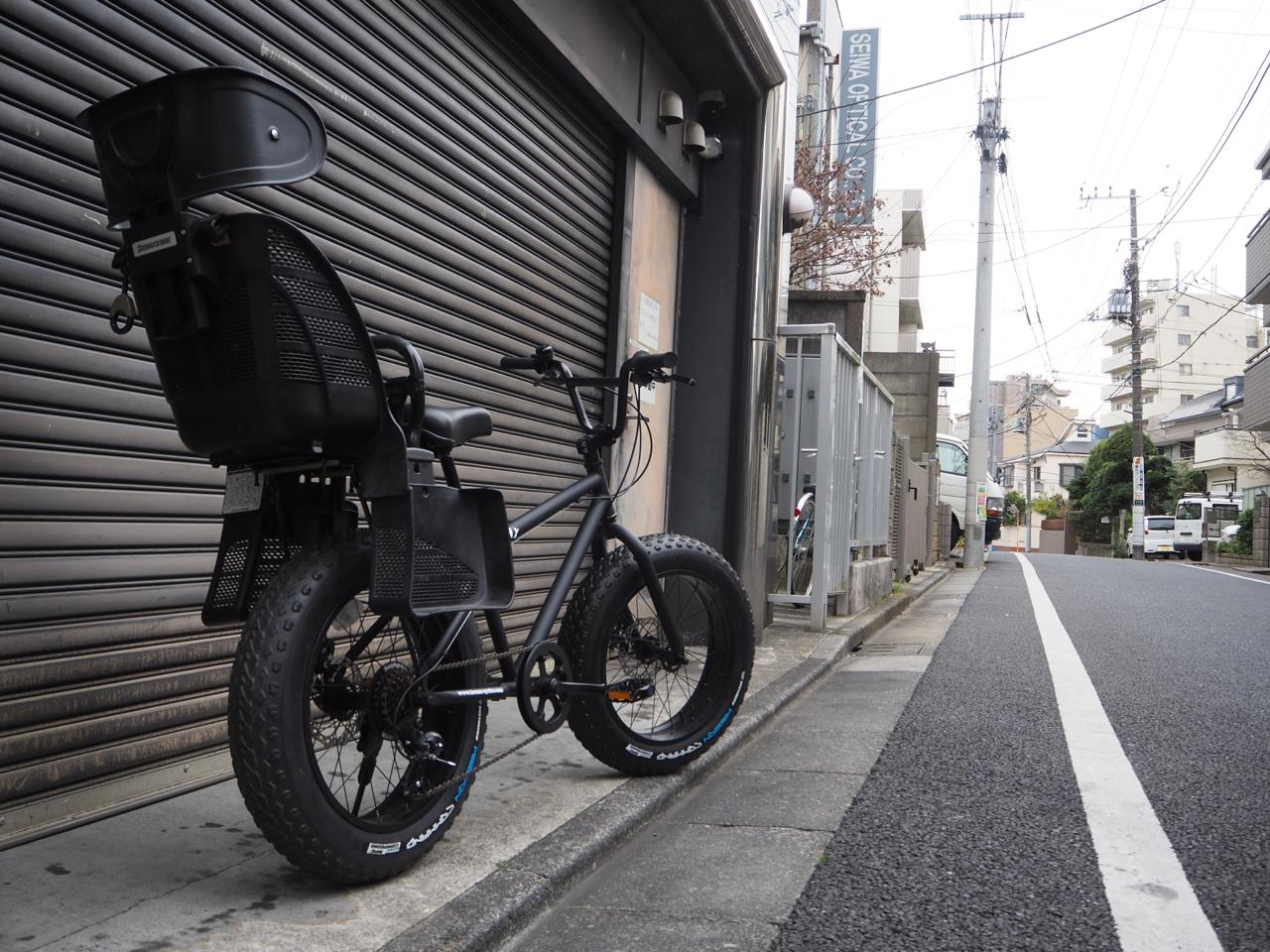 bronx,fatbike,ブロンクス,ファットバイク,20DD,チャイルドシート