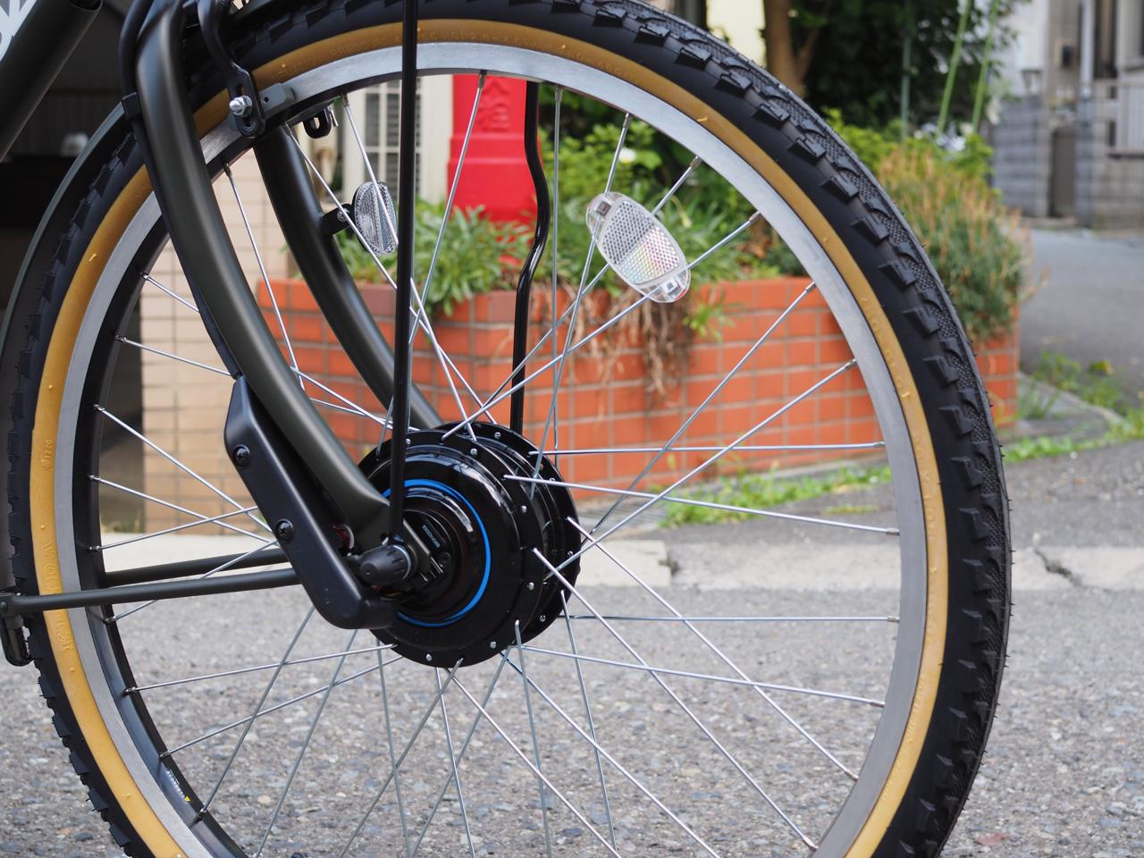 ステップクルーズ,電動自転車,ブリヂストン,自転車,自転車カスタム,ポリスポート