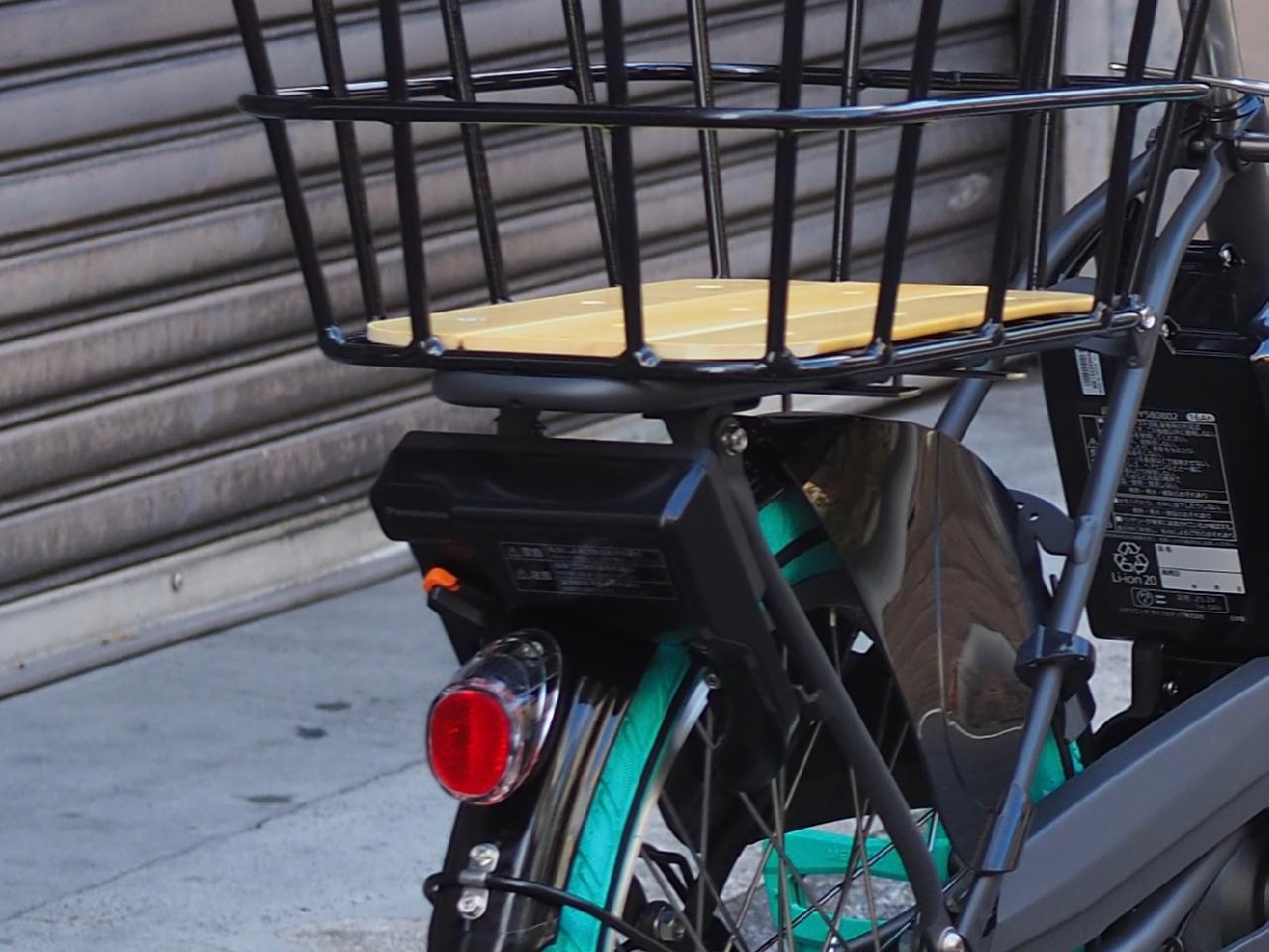 ギュットクルーム,パナソニック,gyutto,電動自転車,子乗せ自転車,カスタム