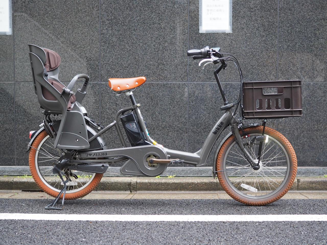 ブリヂストン,ビッケ,子乗せ,電動自転車,子乗せ電動,チャイルドシート,bikke,ビッケポーラー